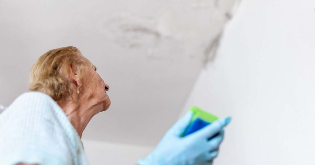 cleaning-up-dangerous-fungus-from-a-wet-wall