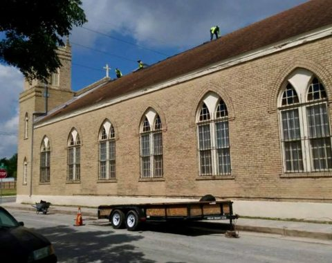REPLACING THIS BEAUTIFUL CHURCH ROOF
